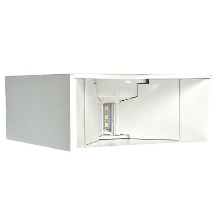 Luminária Arandela LED 4W Branco Neutro Aro Branco