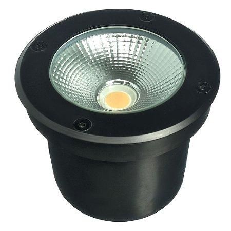 Balizador LED 12W Embutir Branco Quente para Piso