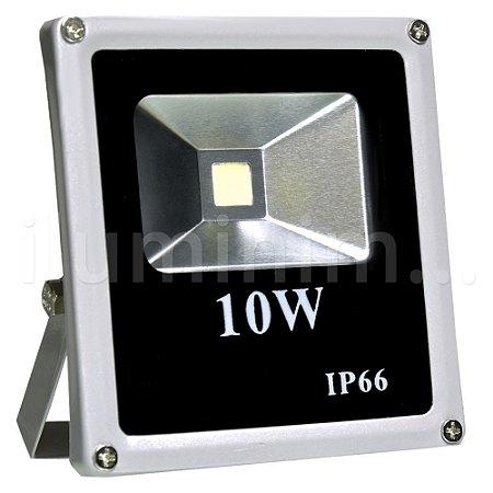 Refletor Holofote LED 10w Branco Frio