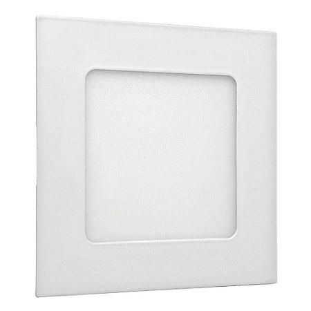 Luminária Plafon 6w LED Embutir Branco Frio