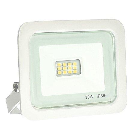 Refletor MicroLED Ultra Thin 10W Branco Quente White Type