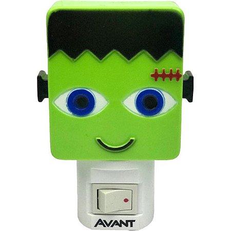 Luminária LED Abajur Frankenstein 1W Luz Noturna