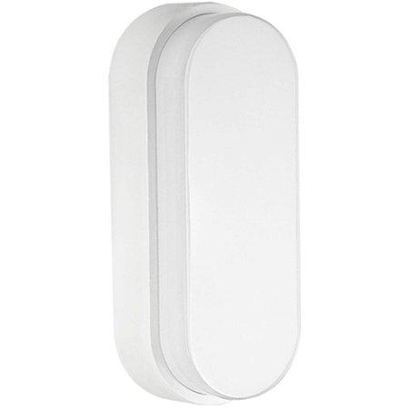 Luminária Arandela LED 10W Sobrepor Tartaruga Branco Quente