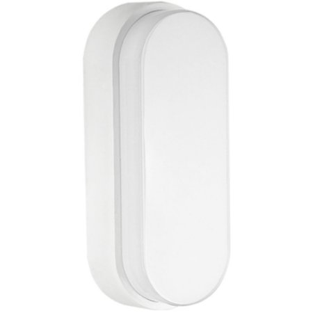 Luminária Arandela LED 12W Tartaruga Sobrepor Branco Quente Branco