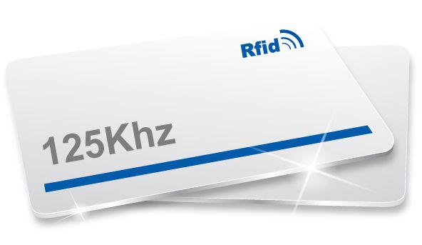Cartão RFID 125 kHz programável reutilizável
