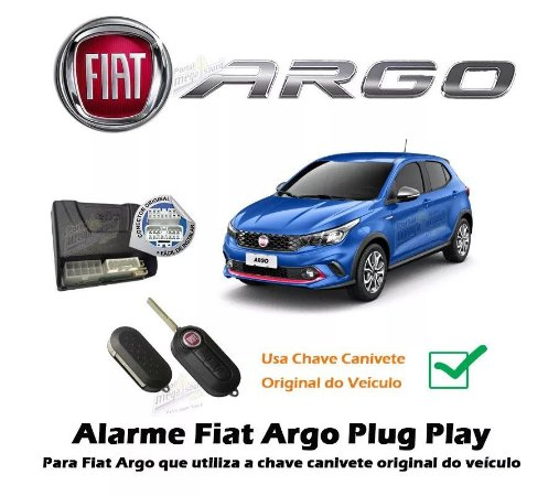 ALARME MOPAR FIAT ARGO/CRONOS