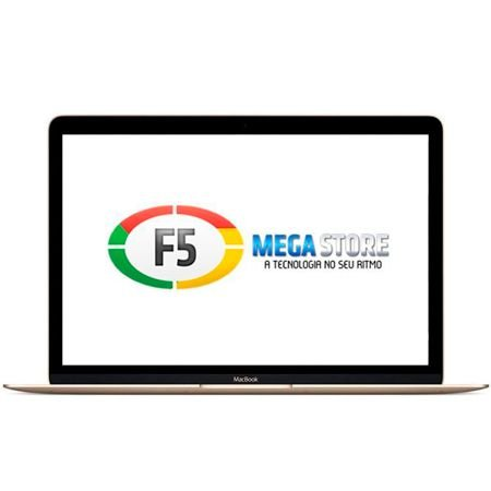MacBook MLHE2PO/A Tela Retina 12 Led Intel Core M3 8GB SSD 256GB Dourado