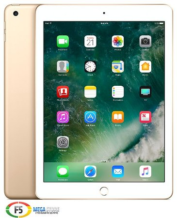 iPad New MPGT2 32GB Tela Retina de 9,7 Wi Fi Dourado