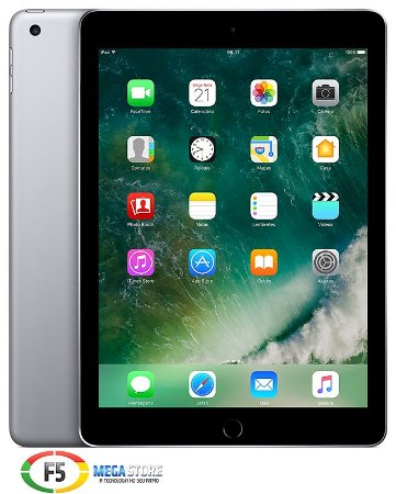 iPad New MP2F2 32GB Tela Retina de 9,7 Wi Fi Cinza Espacial