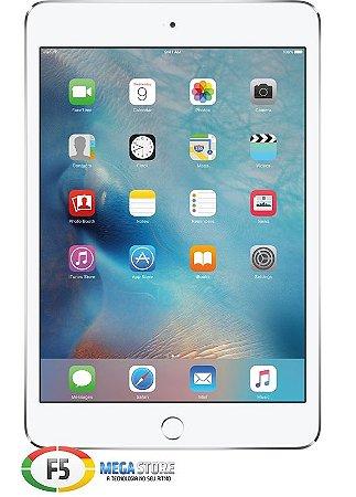 iPad Mini 4 MK9P2 128GB Tela Retina 7.9 Wi-fi Prata