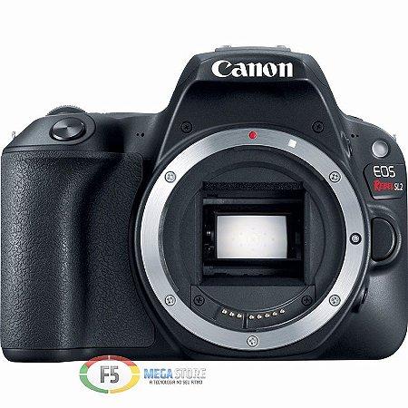 Camera Canon EOS Rebel SL2 Corpo Não Acompanha Lente 24.2MP Touch Screen Wi Fi DIGIC 7