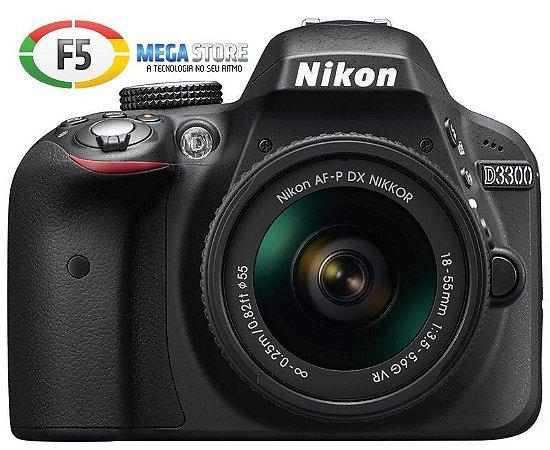 Camera Nikon D3300 Com Lente 18 55mm  24.2 Megapixels Expeed 4