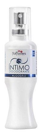 DESODORANTE INTIMO AROMATICO 35ML HOT FLOWERS ALGODAO.