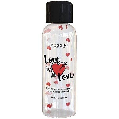 Love In Love Óleo para Massagem Corporal