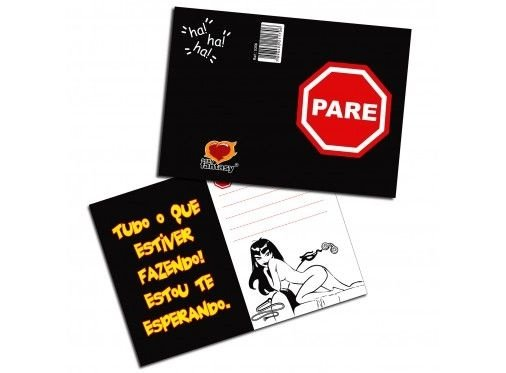 Cartão Pare