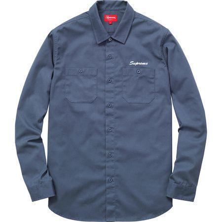 SUPREME - Camisa Pledge Allegiance Work