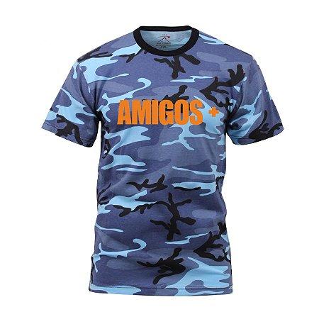 """BABES - Camiseta Amigos+ """"Blue"""""""