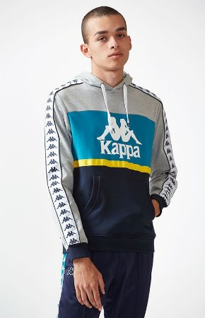 "KAPPA - Moletom Andrews Colorblock ""Blue"""