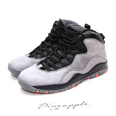 """Nike Air Jordan 10 Retro """"Cool Grey"""" TAM 42,5 BR / 10,5 US"""