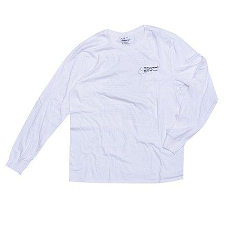"Nike x OFF-WHITE - Camiseta Manga Longa ""White"""