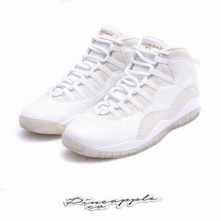 "Nike Air Jordan 10 Retro x OVO ""White"""