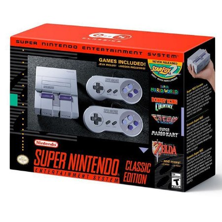 NINTENDO - Video Game SNES Classic Edition