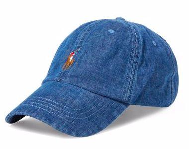 "Polo Ralph Lauren - Boné Denim Baseball ""Blue"""