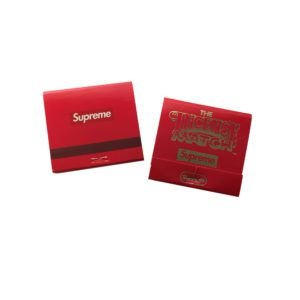 """Supreme x The Incense Match - Incenso Spice """"Red"""""""