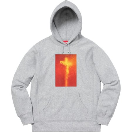 "Supreme x Andres Serrano - Moletom Piss Christ ""Grey"""