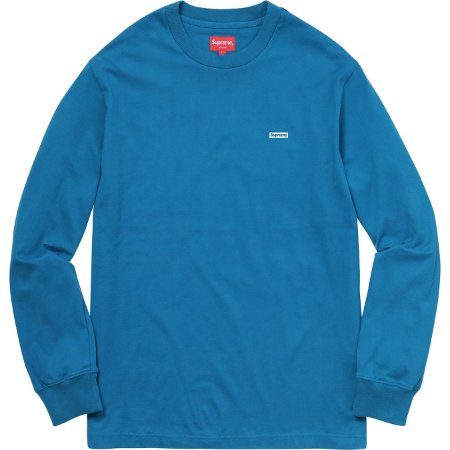 "SUPREME - Camiseta Metallic Box Logo ""Blue"""