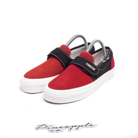 "Vans Slip-On 47 V DX x Fear of God ""Red/Black"""