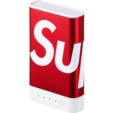 """Supreme x Mophie - Carregador Portátil Encore Plus 10K """"Red"""""""