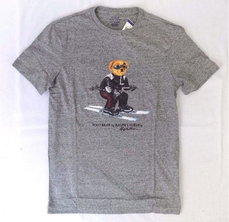 "Polo Ralph Lauren - Camiseta Polo Bear Ski ""Grey"""