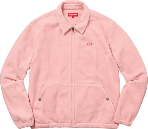 SUPREME - Jaqueta Polartec Harrington Pink
