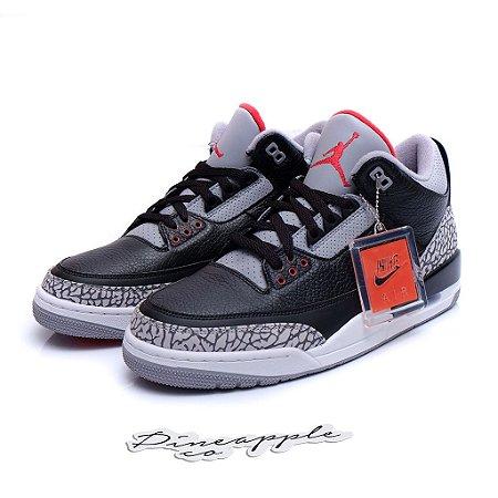 """Nike Air Jordan 3 OG Retro """"Black Cement"""" (2018)"""