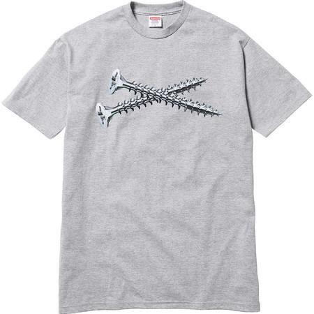 "SUPREME - Camiseta Screw ""Grey"""