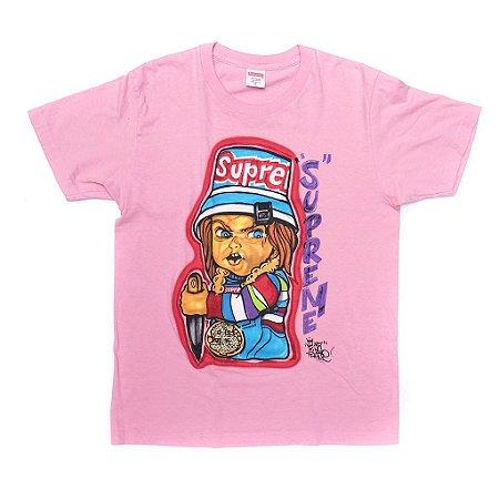 "SUPREME - Camiseta Chucky ""Pink"""