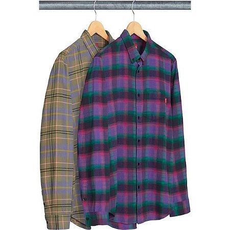 ENCOMENDA - SUPREME - Camisa Tartan Flannel