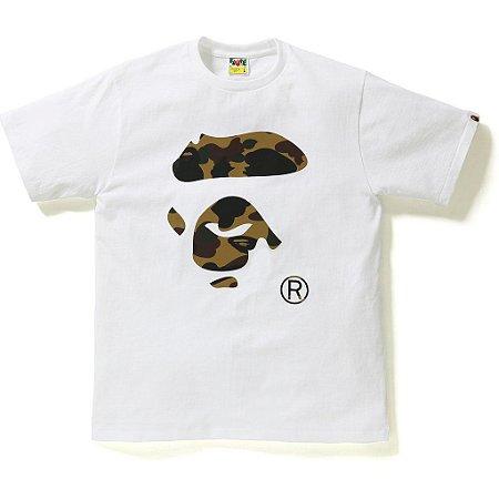 "BAPE - Camiseta Reflector 1st Face Camo Face By Bathing ""White"""