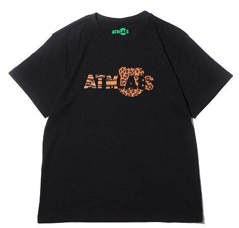 "Atmos x BE@RBRICK - Camiseta Atmos Labs Logo ""Black"""