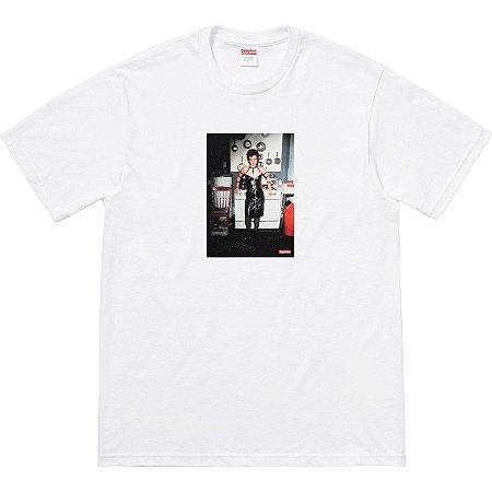 """Supreme x Nan Goldin - Camiseta Nan as a dominatrix """"White"""""""