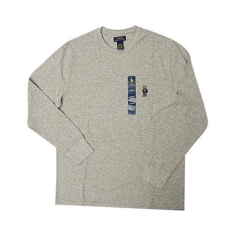 "Polo Ralph Lauren -  Camiseta Thermal Polo Bear ""Grey"""