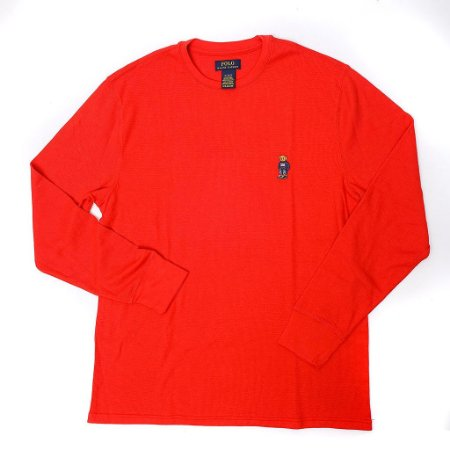 "Polo Ralph Lauren -  Camiseta Thermal Polo Bear ""Red"""