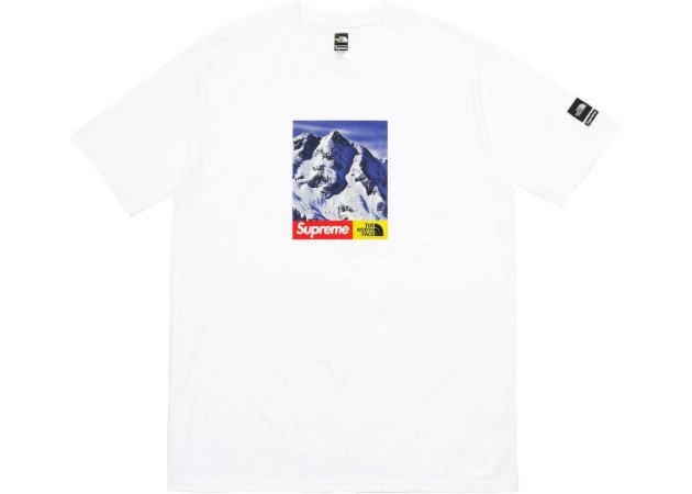 ENCOMENDA - Supreme x The North Face - Camiseta Mountain