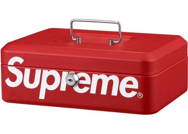 "ENCOMENDA - SUPREME - Caixa Lock Box ""Red"""