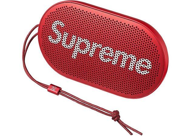 """ENCOMENDA - Supreme x B&O PLAY by Bang & Olufsen - Caixa de Som P2 Wireless """"Red"""""""