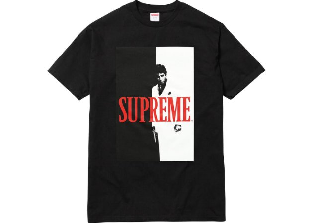 ENCOMENDA - Supreme x Scarface - Camiseta Split