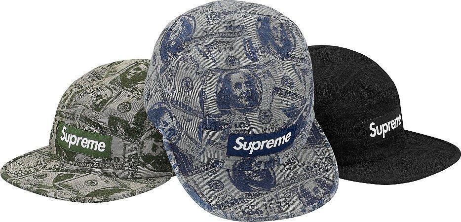 ENCOMENDA - SUPREME - Boné Dollar Bill Camp