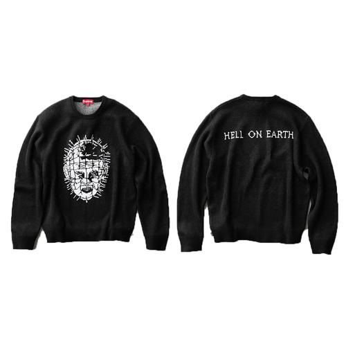 ENCOMENDA - Supreme x Hellraiser - Suéter Hell On Earth