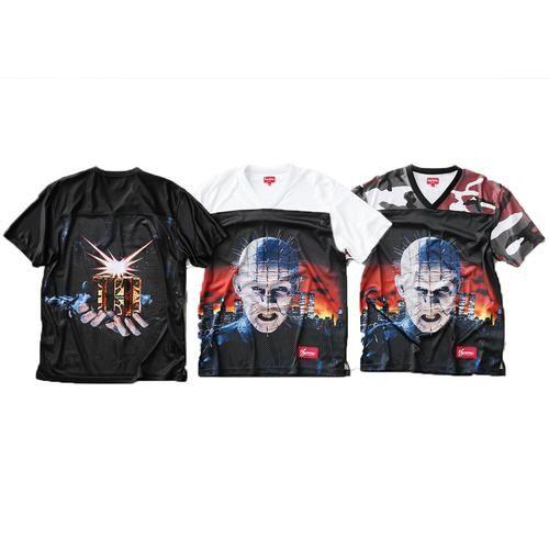 ENCOMENDA - Supreme x Hellraiser - Camiseta Football Jersey